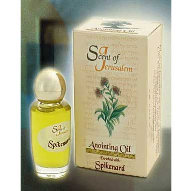 Scent of Jerusalem Anointing Oil - Enriched with Spikenard