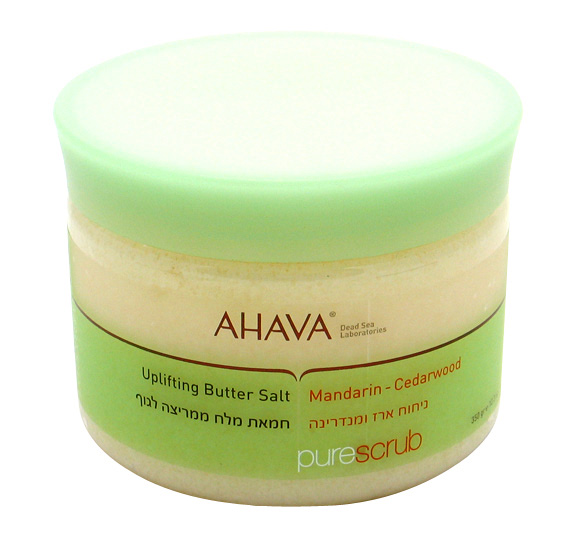 AHAVA Uplifting Butter Salt Mandarin - Cedarwood