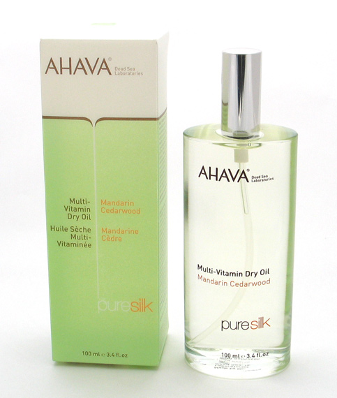 Ahava MultiVitamin Dry Oil – Mandarin Cedarwood