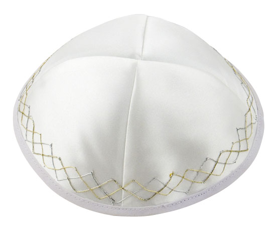 Chain Satin Kippah