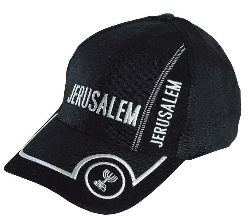 Black Jerusalem Baseball Cap