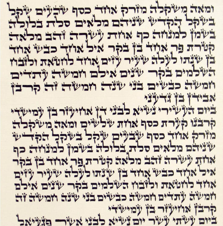 Ashkenaz Torah Scroll – Ktav Ari