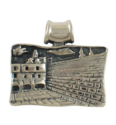 Sterling Silver Western Wall Pendant