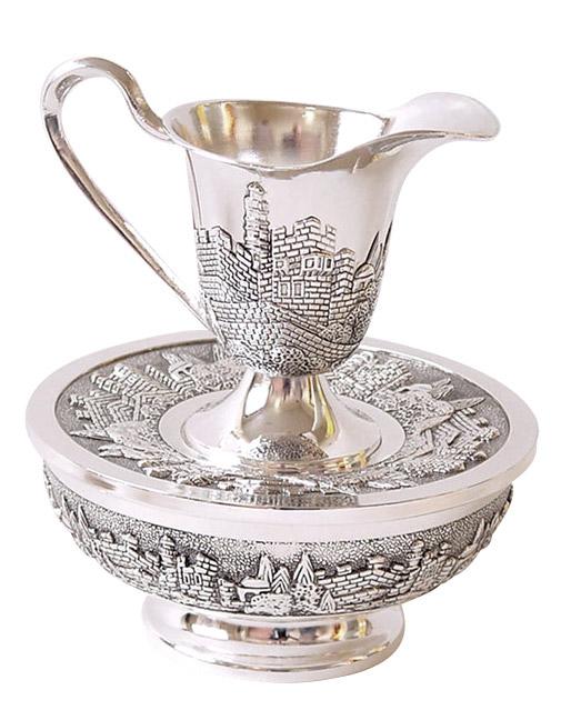 Mayim Achronim Hand Wash Cup Jerusalem design