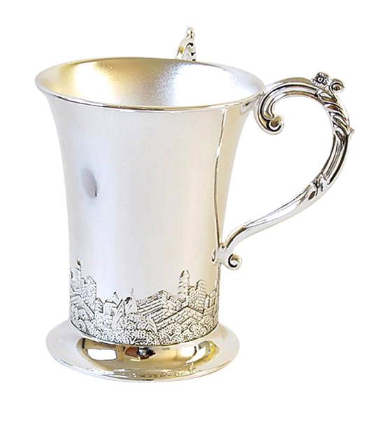 Netilat Yadayim Wash Cup Jerusalem Design