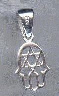 Sterling Silver Hamsa Pendant