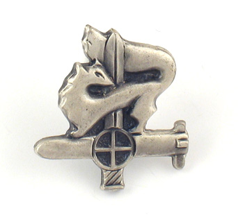 Israeli Theme Lapel Pin - Givati