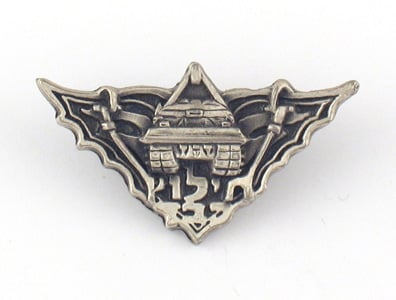 Israeli Theme Lapel Pin - Rescue Unit Symbol