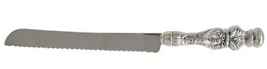 Silver plated Challah Knife