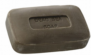 Ein Gedi Dead Sea Exfoliating Black Mud Soap