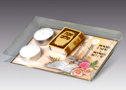 Shabbat Candle Lighting Set