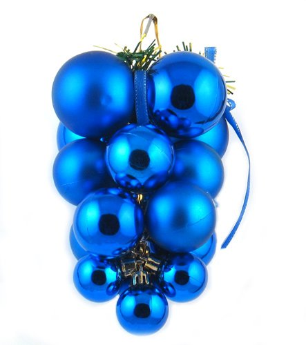Shiny Grape Cluster Sukkah Decoration