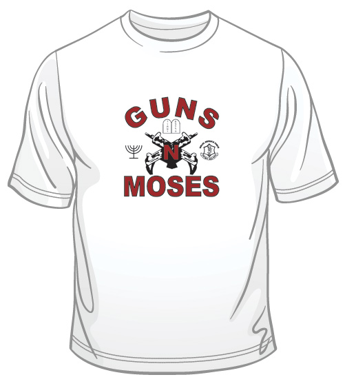 Guns n' Moses T-Shirt