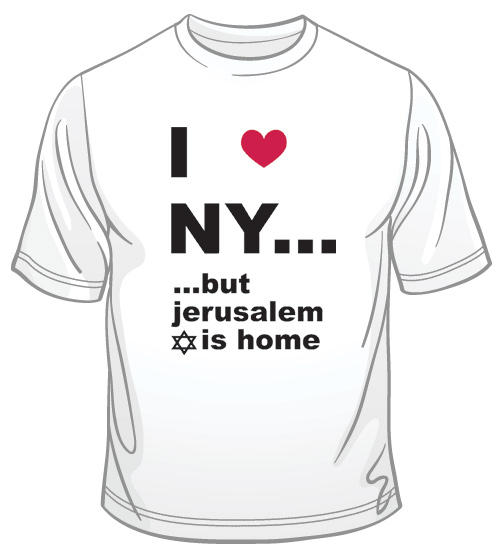 I Love N.Y. But ... T-Shirt