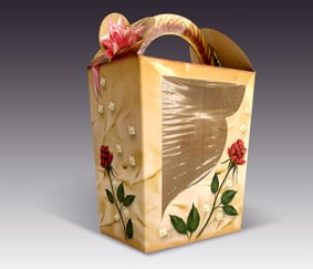 "Purim ""Flower"" Mishloach Manot Box"