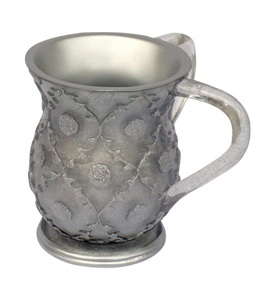Acrylic Silver Color Wash Cup