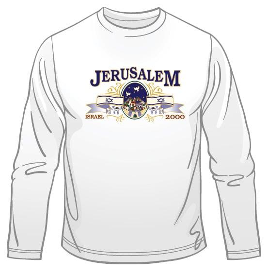 Jerusalem - Israel Long Sleeved T-Shirt