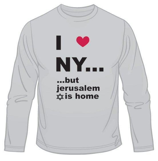 I Love N.Y. But ...  Long Sleeved T-Shirt
