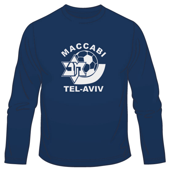 Maccabi Tel Aviv Soccer Long Sleeved T-Shirt