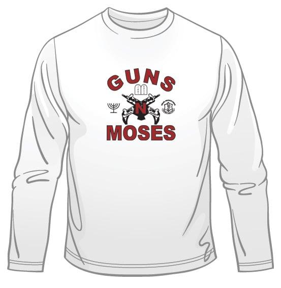 Guns n' Moses Long Sleeved T-Shirt