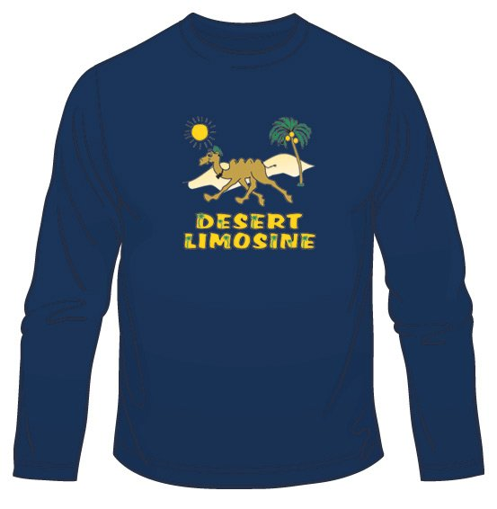 Desert Limousine Long Sleeved T-Shirt