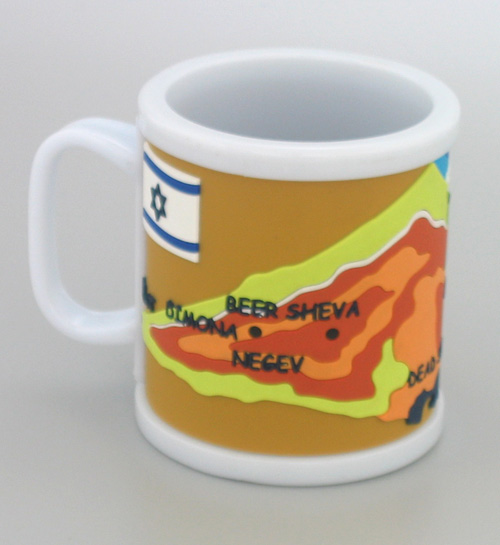 Map of Israel Coffee Mug