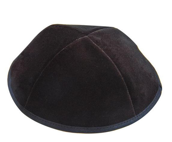 Black Velvet Kippahs