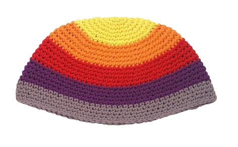 Rainbow Frik Kippah