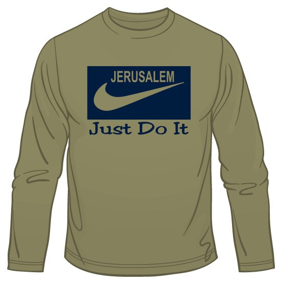 Jerusalem – Just Do It Long Sleeve T-Shirt