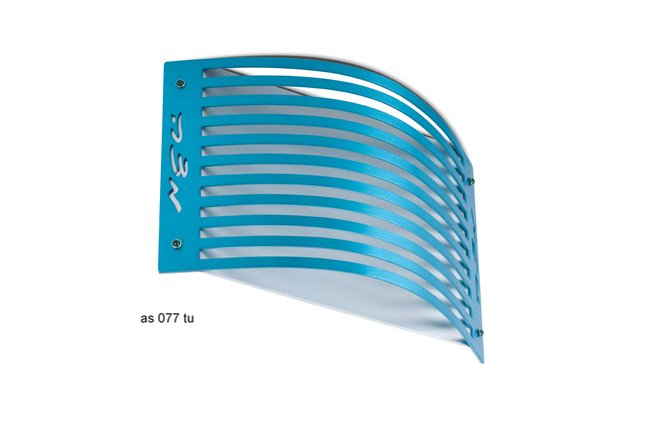 Adi Sidler Turquoise Linear Matza Stand