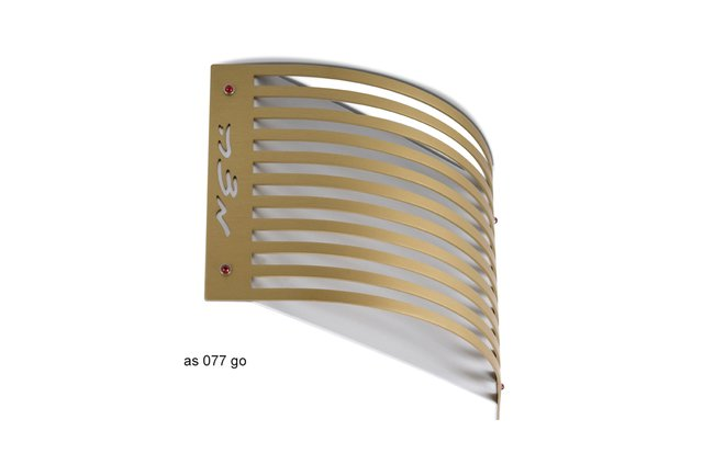 Adi Sidler Gold color Linear Matza Stand