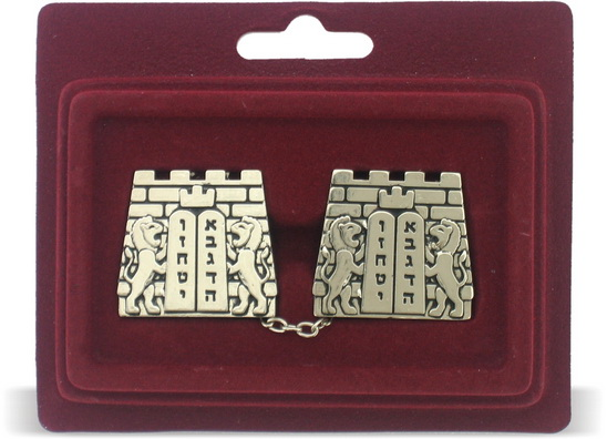 Ten Commandments Tallit Clips