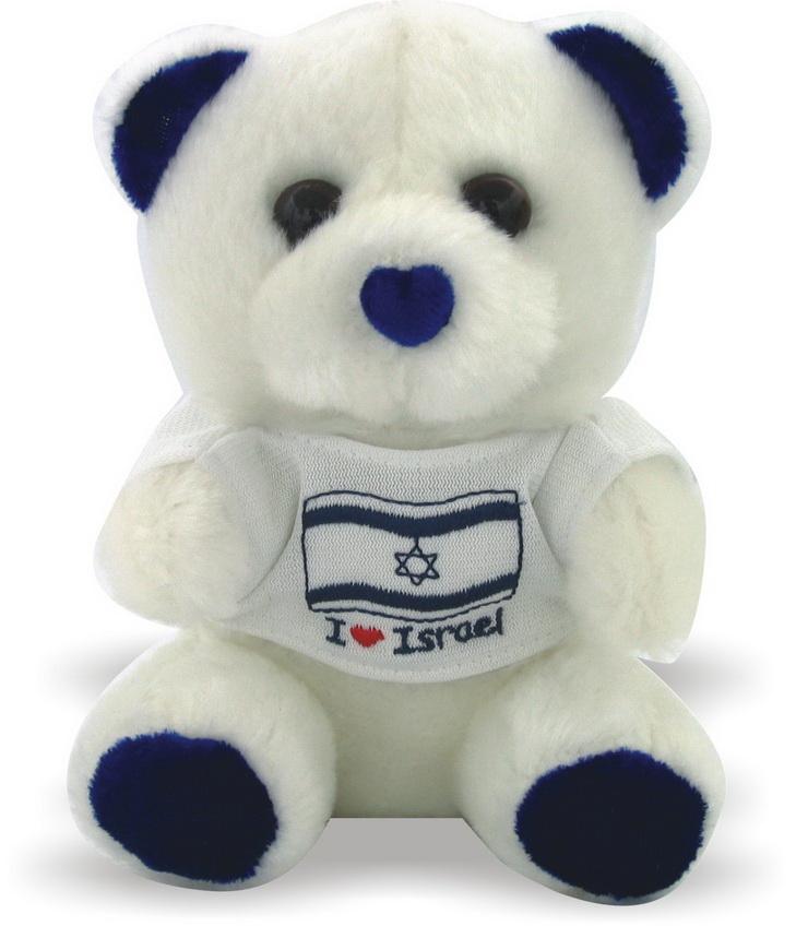 I Love Israel Soft & Cuddly Teddy Bear