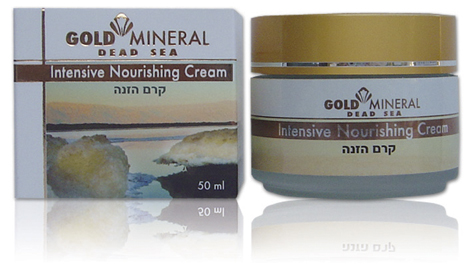 Gold Mineral Intensive Nourishing Cream