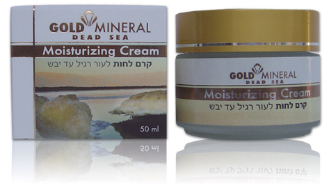 Gold Mineral Moisturizing Cream SPF-15