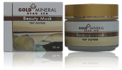 Gold Mineral Beauty Mask