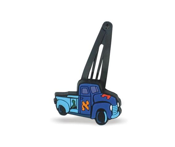 Alef Bet Truck Kippah Clips
