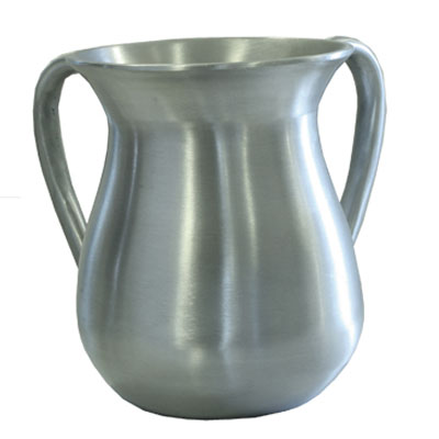 Silver Cast Aluminum Netilat Yadayim Wash Cup By Emanuel