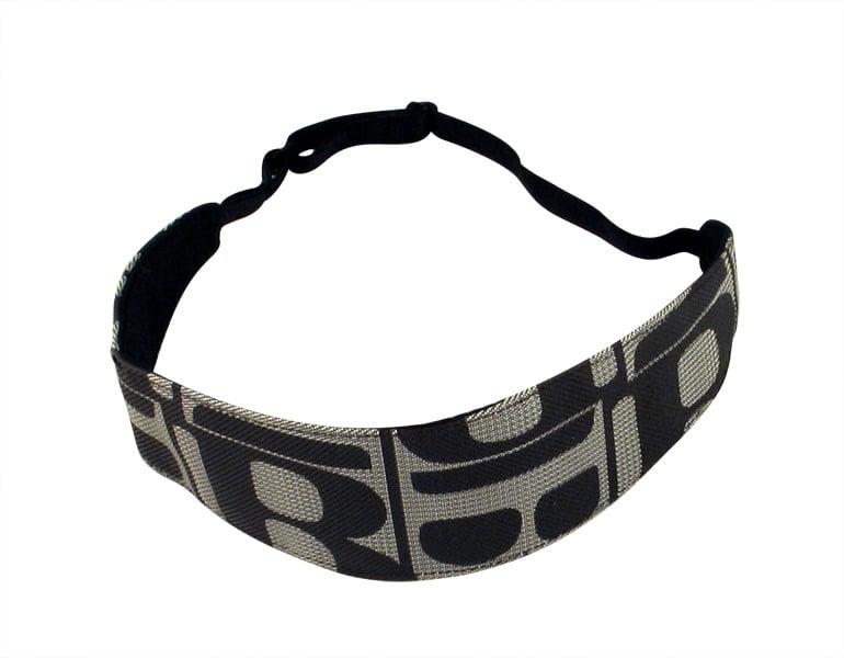Black-Gray Womens Headband