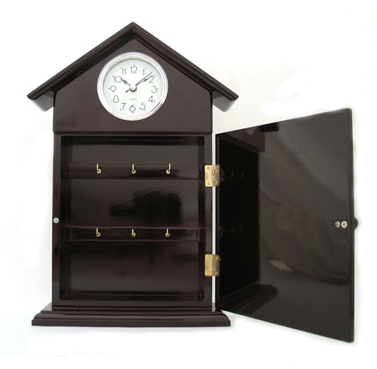 Key Hanger Clock with Home Blessing
