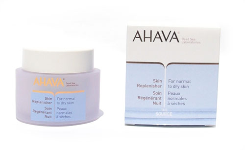 AHAVA Skin Replenisher – Night Cream for normal to dry skin