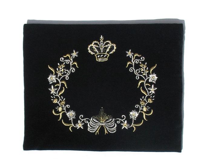 Velvet Crown Tallit & Tefillin Bags
