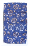 Royal Blue Woman Head Covering Scarf   Song of Songs