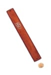 Dark Brown Wood Mezuzah