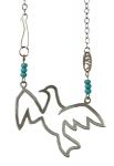 Bird Spreading wings Pendant By Shraga Landesman