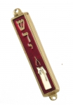Candle Mezuzah Case