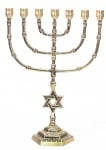 Seven Branch Large Cup Menorah