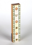 Flower Mezuzah by Dorit