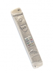 12 Tribe BreastPlate Pewter Mezuzah