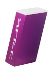 Adi Sidler magenta color Tzedakah Box